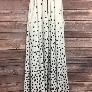 Jessica Simpson Black and White Polka Dot Dress